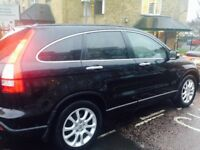 Honda crv 07 auto black excellent condition long mot drives very smooth inspection welcome phi clear