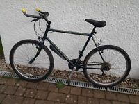 """18 SPEED """"RALEIGH - OUTLAND"""" ADULT MOUNTAIN BIKE"""