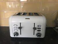 Breville 4x slice toaster white