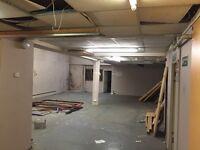 unit to rent garage storage warehouse