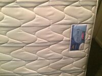King Size Bed with Silentnight Mattress and Headboard