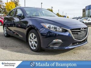 2016 Mazda MAZDA3 GX. CRUISE CTRL. CAMERA. BLUETOOTH. BUCKETS
