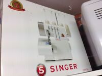 Brand new Singer overlocker sewing machine