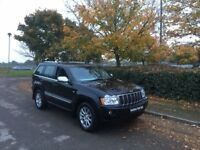 JEEP GRAND CHEROKEE 3.0 CRD V6 Overland 4x4 5dr Auto (black) 2007
