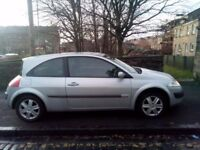 Renault Megane 1.6 2006 (06)**Full Years MOT**Low Mileage**Trade In To Clear**ONLY £1295!!!