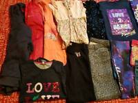 Girls Bundle of 9-10 Years Clothes