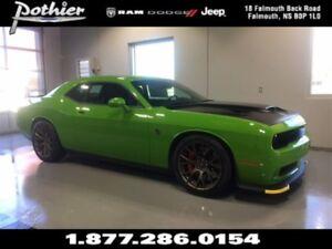 2017 Dodge Challenger SRT Hellcat | MANUAL | HELLCAT LOGO NAPPA