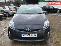 TOYOTA PRIUS T3 HYBRID AUTO IDEAL FOR PCO TAXI £0 ROAD TAX 2 KEYS HPI CLEAR FINANCE £152 PER MONTH