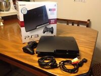 Play Station 3 - 160 GB + GTA V (Headset Included)