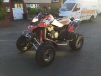 Road legal quad bike bombardier 650ds not Yamaha Quadzilla suzuzki