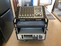 Flightcase Rack for Mixer and Outboard 16U