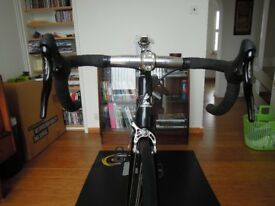Boardman TK Pro track bike - Thomson elite stem and seatpost