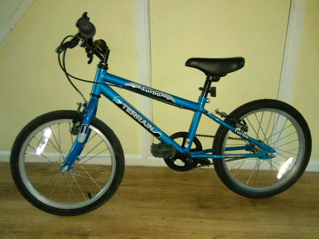 Terrain Turbo 18 inch Wheel Bike, £90 new