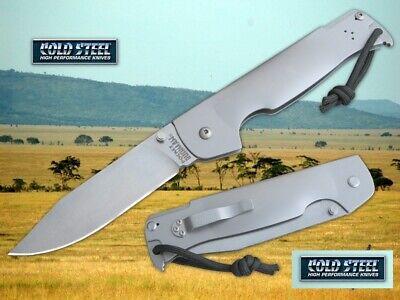 CS95FB Cold Steel Pocket Bushman 4116 Blade 420 Stainless Handle Ram Safe lock