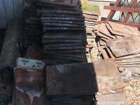 Roof tiles. Reclaimed. Job lot