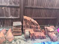 Job Lot approx 500 reclaimed excellent Condition roof tiles