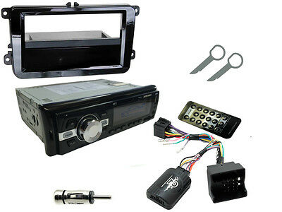 VW GOLF/JETTA MK5 03-09 Bluetooth Car Stereo Head Unit Radio + Steering Controls