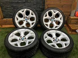 "BMW Style 214 Y Spoke 20"" Alloy wheels X5 X6"