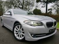 """2011 BMW 5 Series 520d SE, LOW MILES! 18"""" ALLOYS! SAT-NAV! HEATED LEATHER! XENONS! SERVICE HISTORY!"""