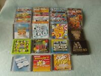 Job Lot of 34 Now That's What I Call Music 2 CD packs & 8 Others