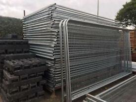 ☀️New Round Top Heras * Temporary Security Fencing Sets * X 35