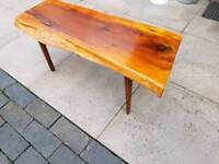 Reynolds of Ludlow yew table