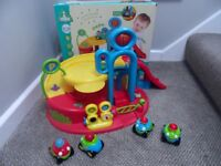 ELC Garage with cars age 1 to 3 years old - Collection only Stourbridge DY8 4 area