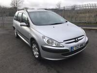 2004 Peugeot 307 hdi estate left hand drive good tyres