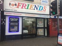 Shop to let on most popular main Ladypool Road area.