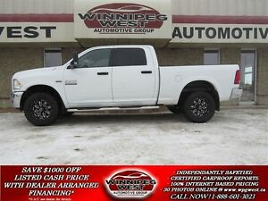 2013 Dodge Ram 2500 CUSTOM OUTDOORSMAN 4X4, HEAVY DUTY , LOADED,