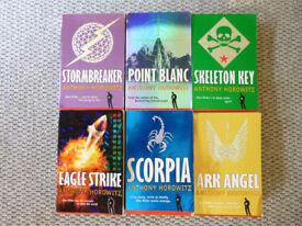 Alex Rider books by Anthony Horowitz