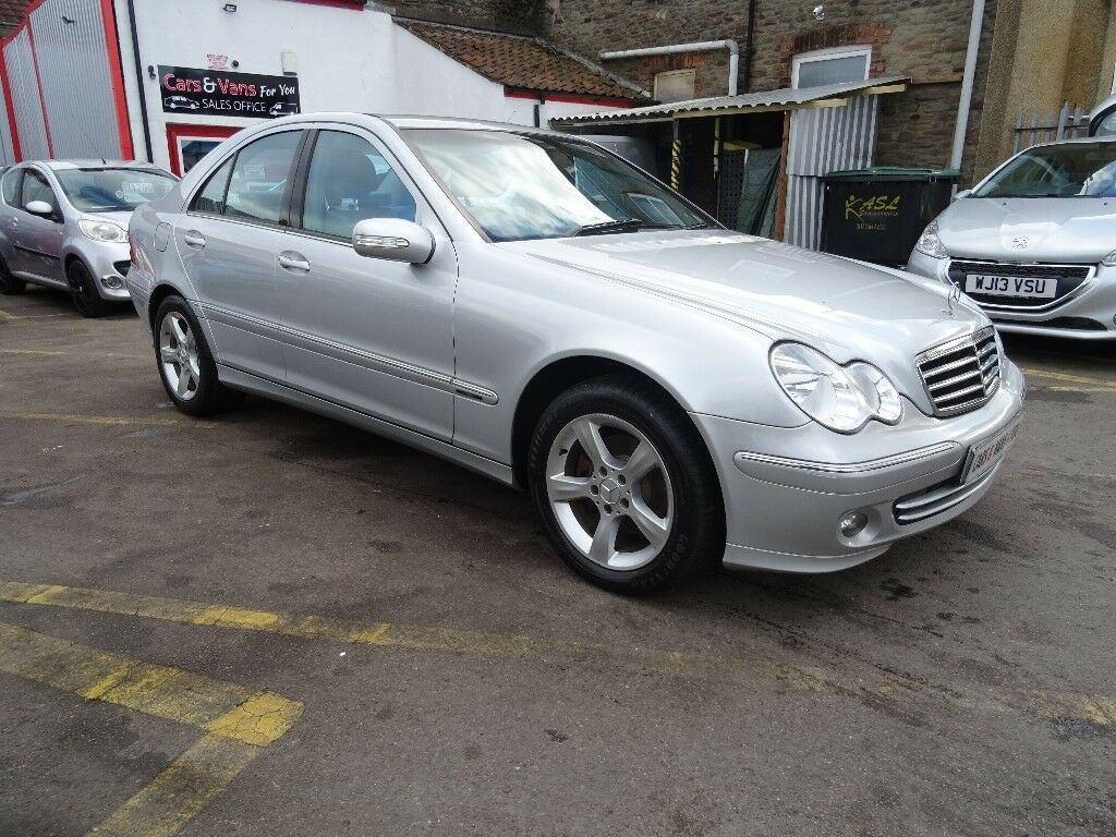 2006 Mercedes-Benz C Class 2.1 C200 CDI Avantgarde SE 4dr LOADS OF SERVICE  HISTORY