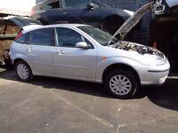 BREAKING --- Ford Focus Ghia MK1 1.6L Petrol 99BHP ------2003