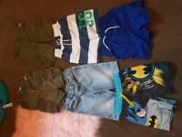 Boys shorts 3 to 4 bundle