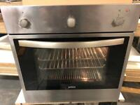 Single fan assisted oven