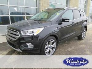 2017 Ford Escape Titanium LOADED, NO ACCIDENTS, FOUR WHEEL DRIVE