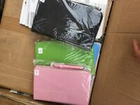 Massive mixed job lot tablet phone cases and accesories