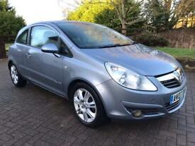 Vauxhall Corsa 1.4 Design Hatchback , 3 Door , 1 Former Keeper , Just Serviced , 12 Months Mot ,