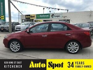 2010 Kia Forte SX/LEATHER/MOONROOF!!/WE FINANCE !