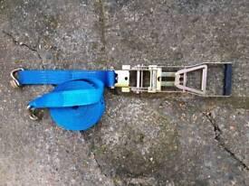 Heavy duty ratchet straps