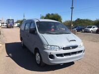LEFT HAND DRIVE HYUNDAI H200 VAN,DRIVES WELL,GOOD LOAD SPACE,ENGINE & MECHANICS,PAPER SORTED.CALL ME
