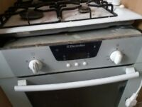gas hub and fan assis oven