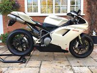 2008 Ducati 848 WHITE 7000miles!