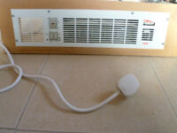 Kitchen plinth heater