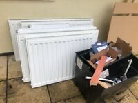 Radiators. near new hardly used cost 550 grab a bargain