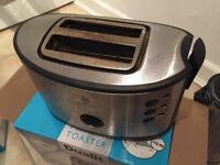 Russell Hobbs Kettle and Toaster Silver