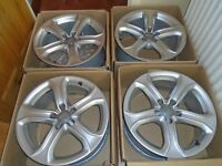 genuine audi 17 inch alloy wheels