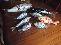 1950's GLASS FISH (FRIGGERS) - COLLECTION