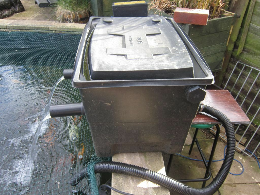 Kockney koi big black box with 25 watt uv pond filter for Used fish pond filters