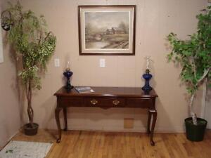 Lovely Inlaid Sofa/Hall Table